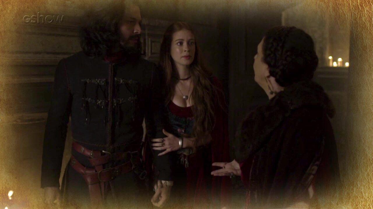 Resumo de 22/06: Afonso e Amália descobre que Beatriz fugiu