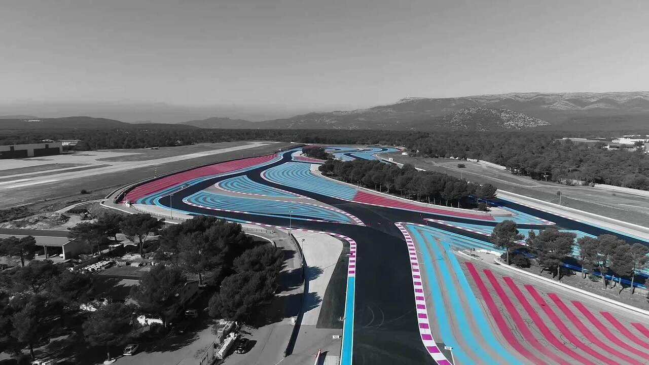 Mapa virtual do GP da França: conheça todas as curvas do Circuito Paul Ricard