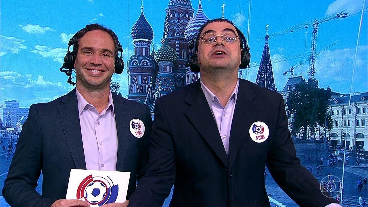 Cascadura Júnior e Caio Ribeiro contam como foram os jogos do 7º dia de Copa do Mundo