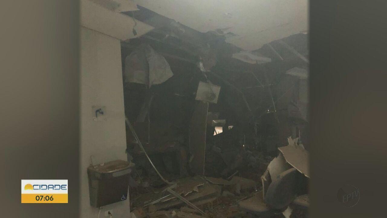 Assaltantes explodem caixas eletrônicos em Divinolândia e Tapiratiba