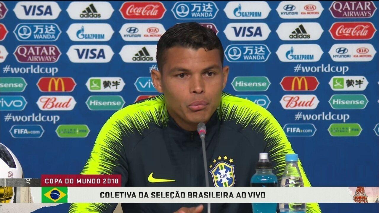 Thiago Silva volta a falar sobre ser capitão: