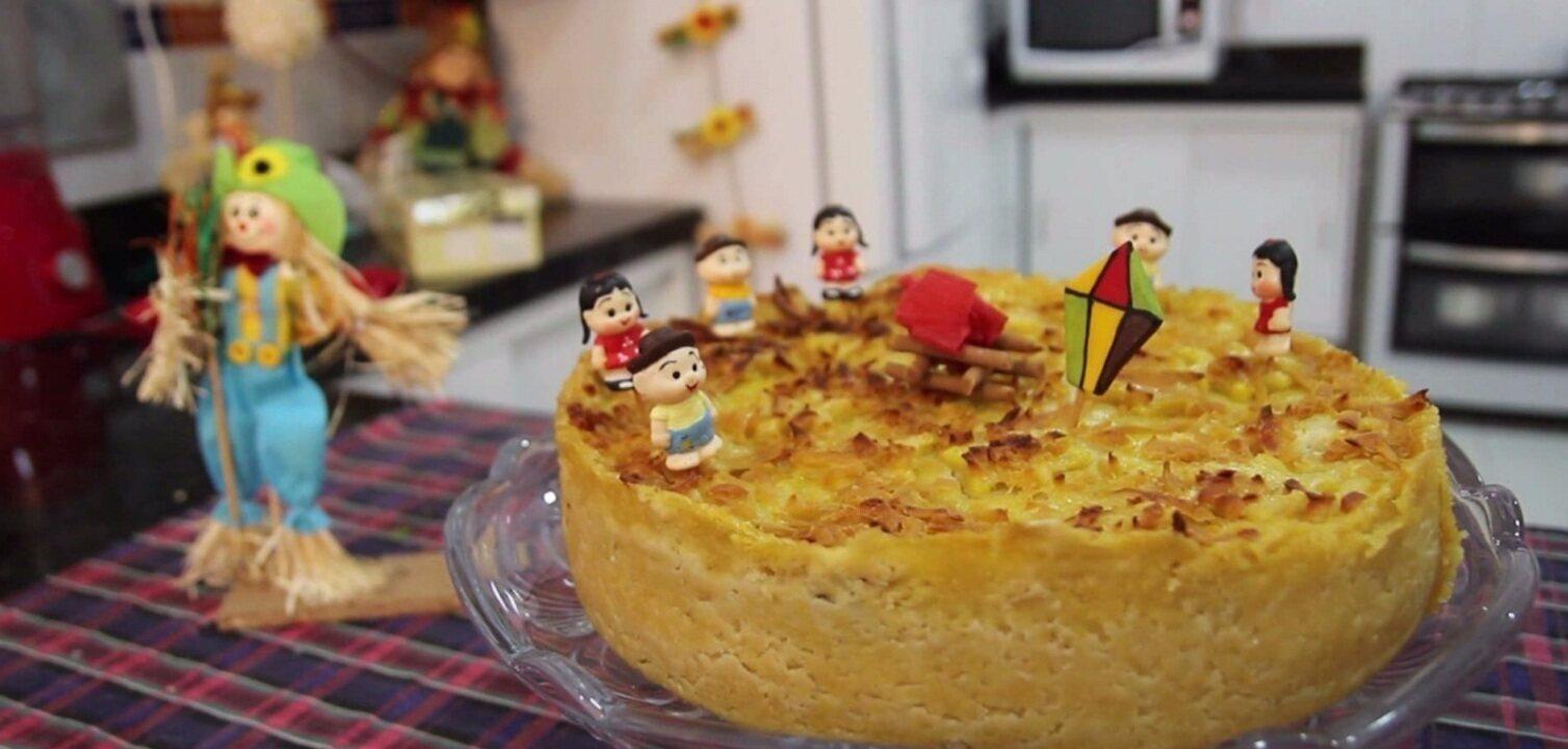 Torta Sol do Sertão é mais uma receita tentadora do Concurso de Culinária Junina