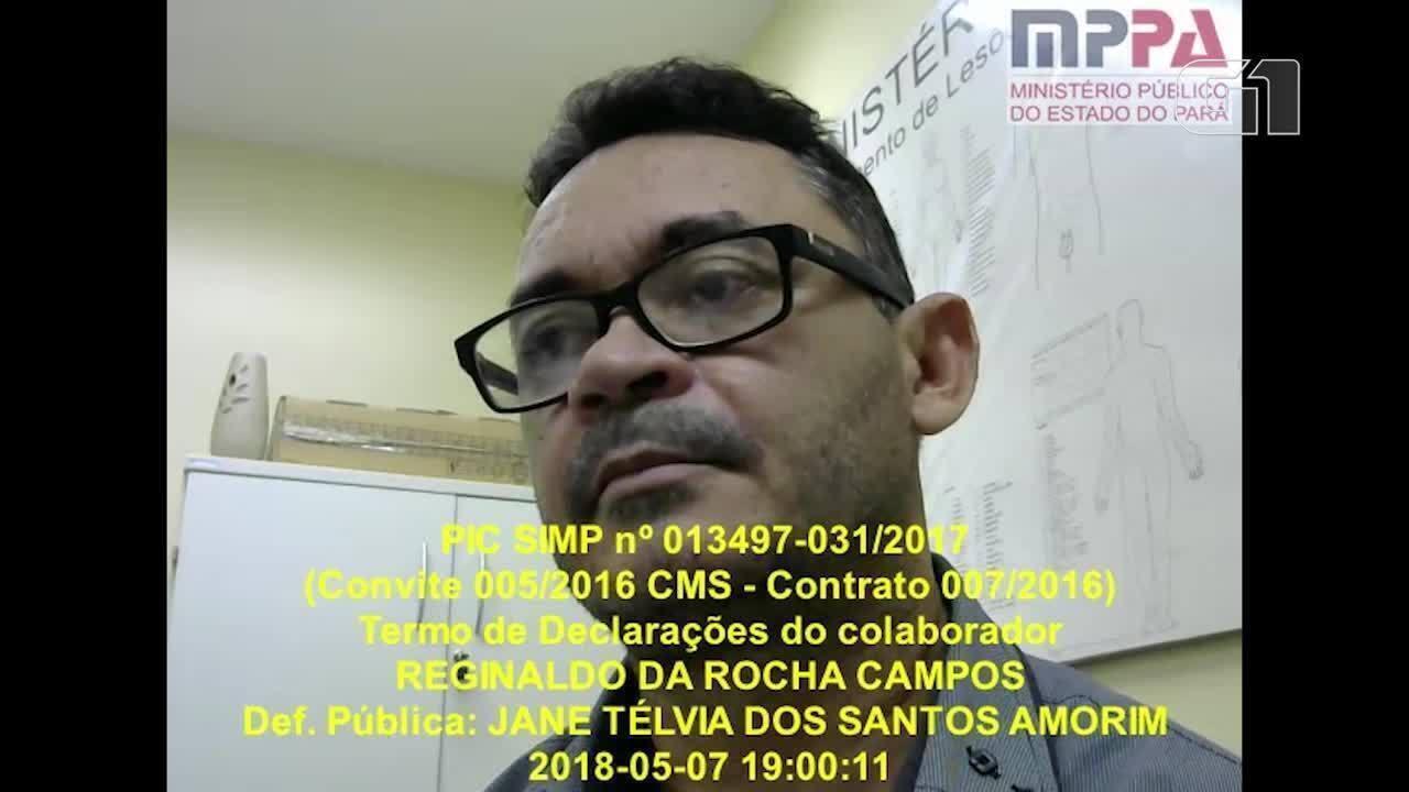 Reginaldo Campos confirma favorecimento a empresas em licitações realizadas pela Câmara
