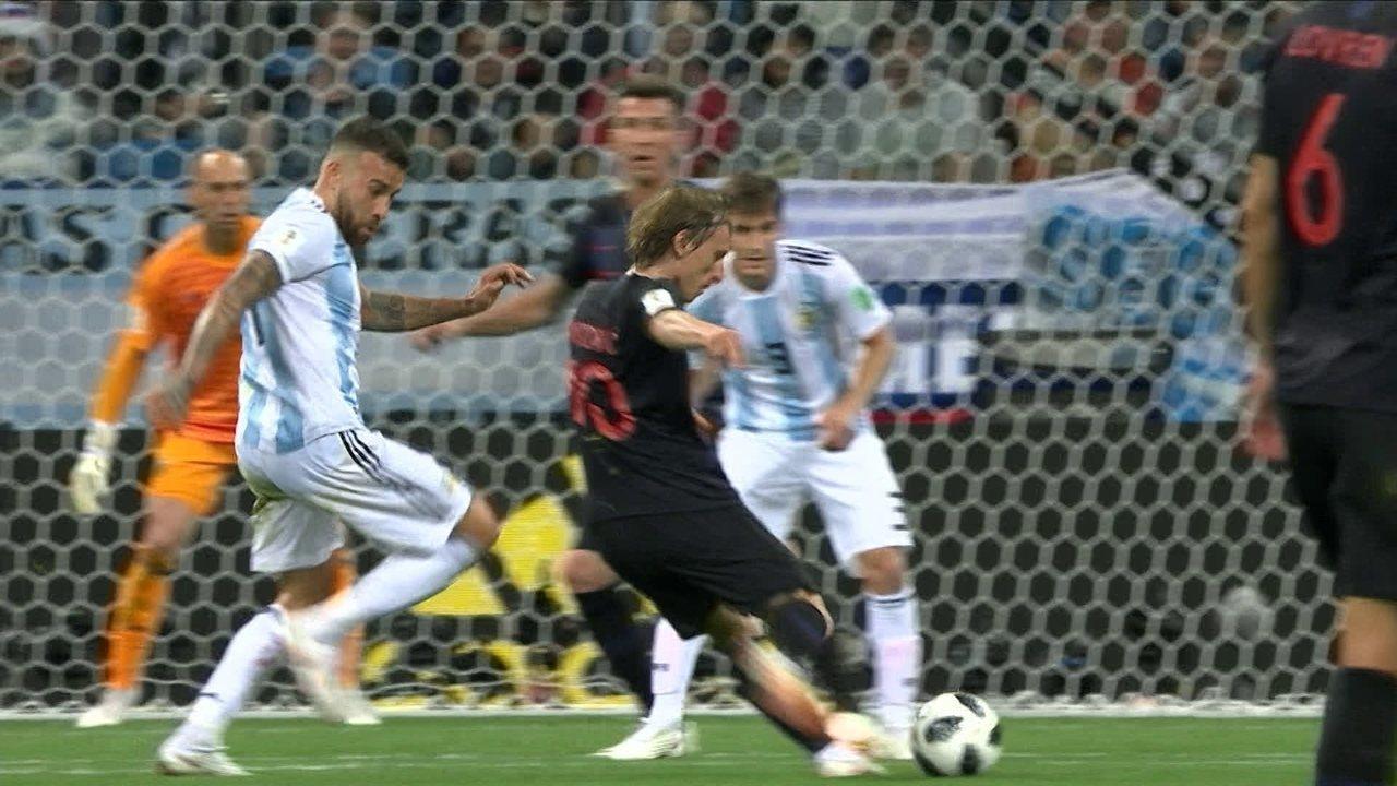 Os melhores momentos de Argentina 0 x 3 Croácia pela Copa do Mundo 2018