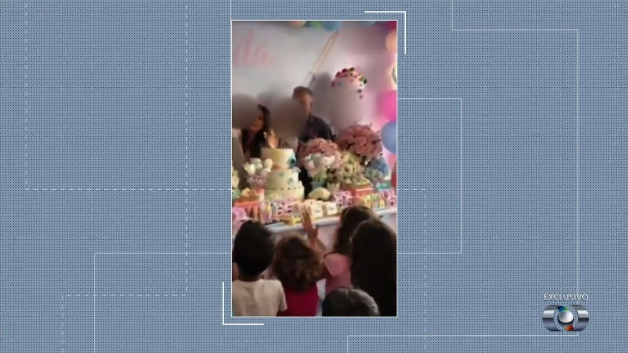 Preso em regime semiaberto, Cachoeira celebra 2 anos da filha em Cmei de Goiânia