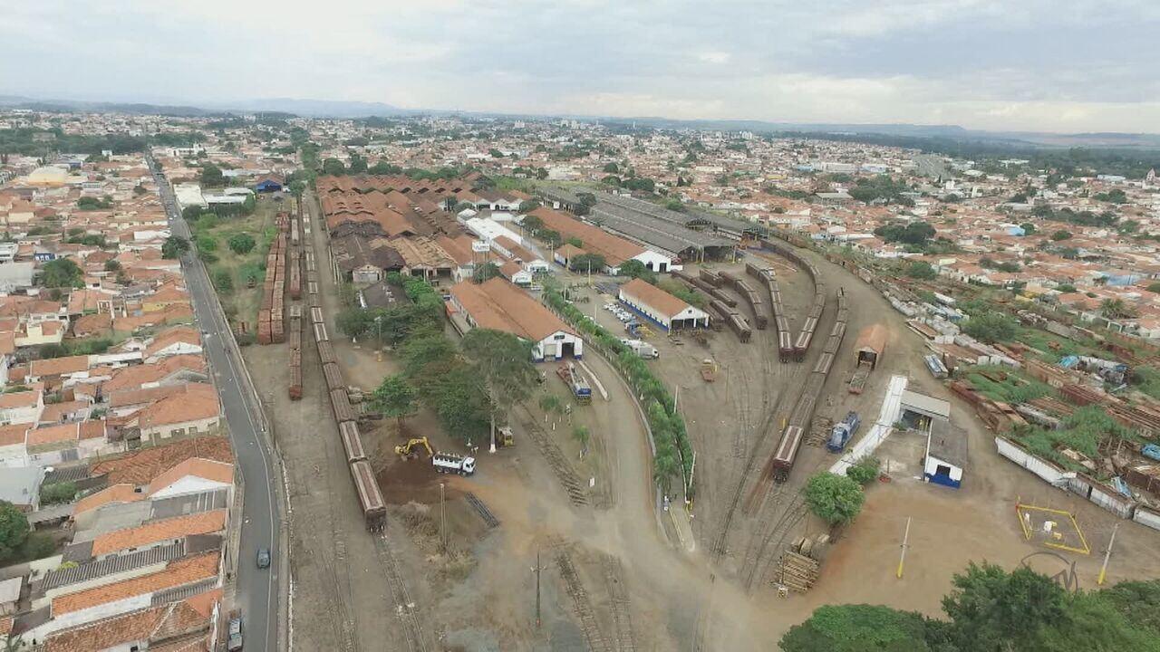 Oficinas de de manutenção de trens vão sair do Centro de Rio Claro