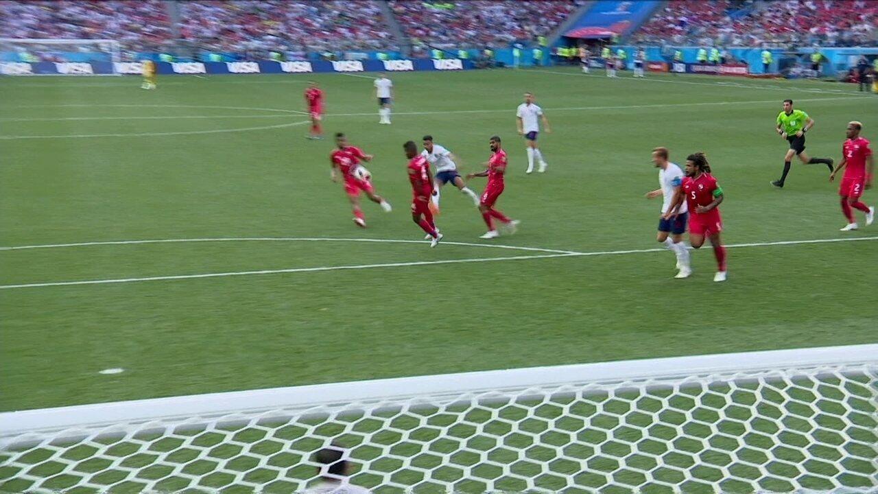 Os melhores momentos de Inglaterra 6 x 1 Panamá pela Copa do Mundo 2018