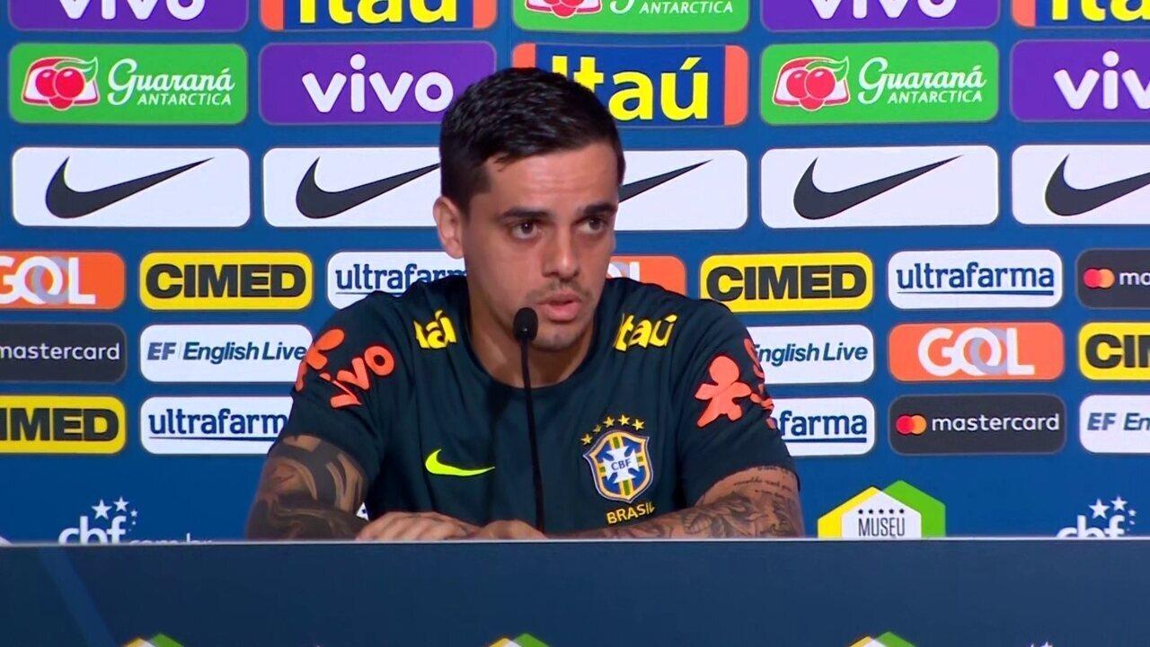 Fagner sobre o nível dos adversários da Copa ser maior do que no Brasil:
