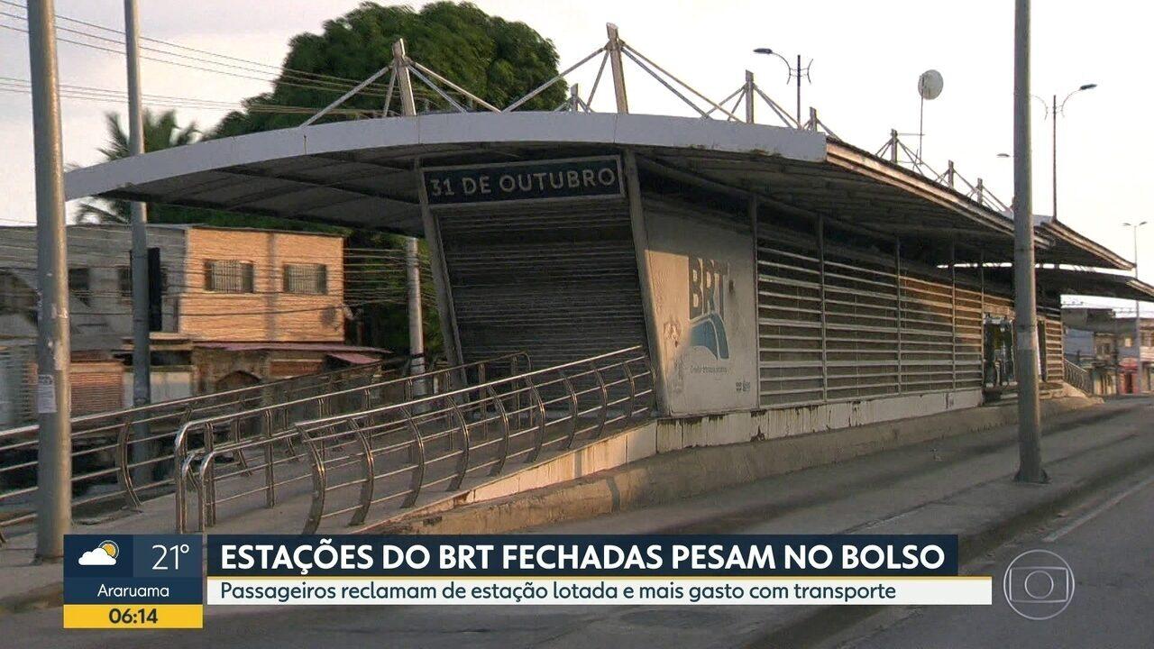 Um mês sem BRT na Cesário de Melo.