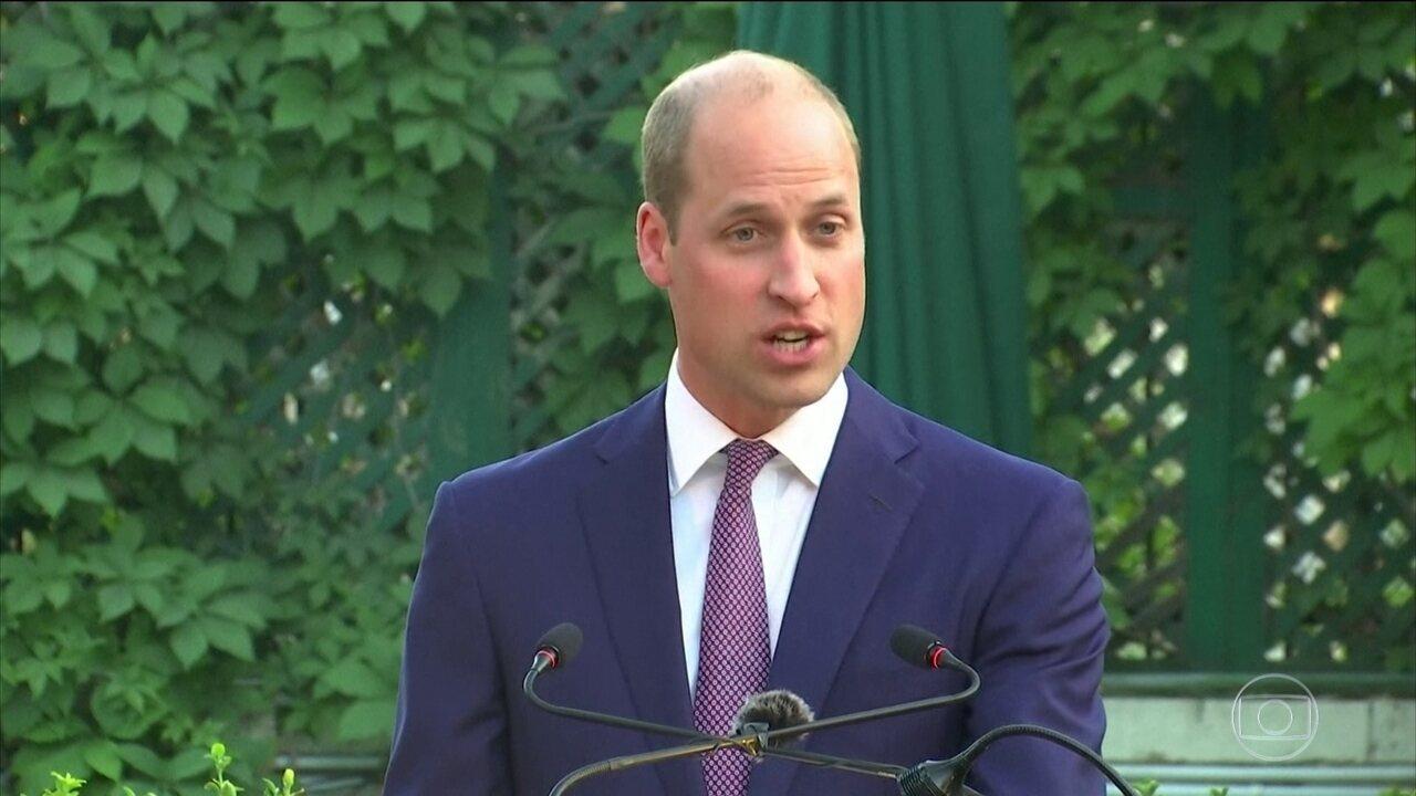 Príncipe William está fazendo uma viagem histórica pelo Oriente Médio