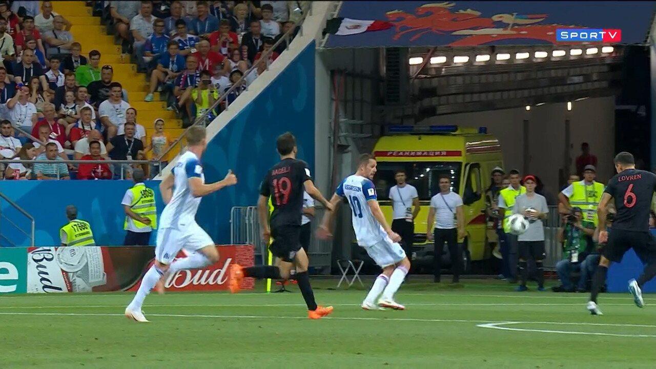 Islândia 1 x 2 Croácia - Melhores Momentos