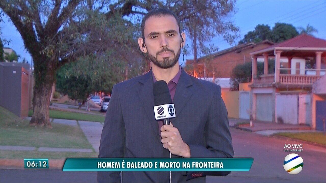 Brasileiro é morto a tiros em Pedro Juan Caballero