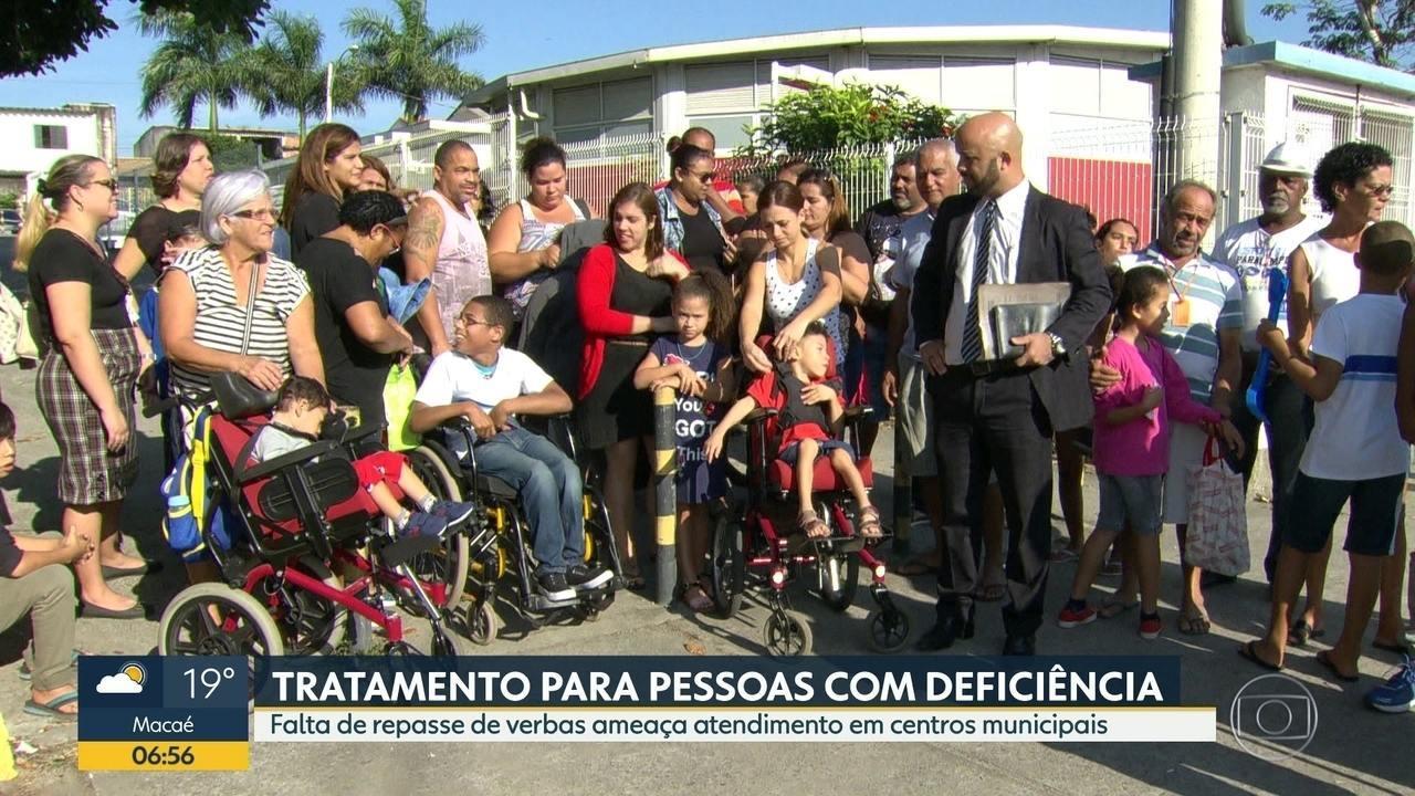 Resultado de imagem para Centros de tratamento de pessoas com deficiência tem atendimento reduzido