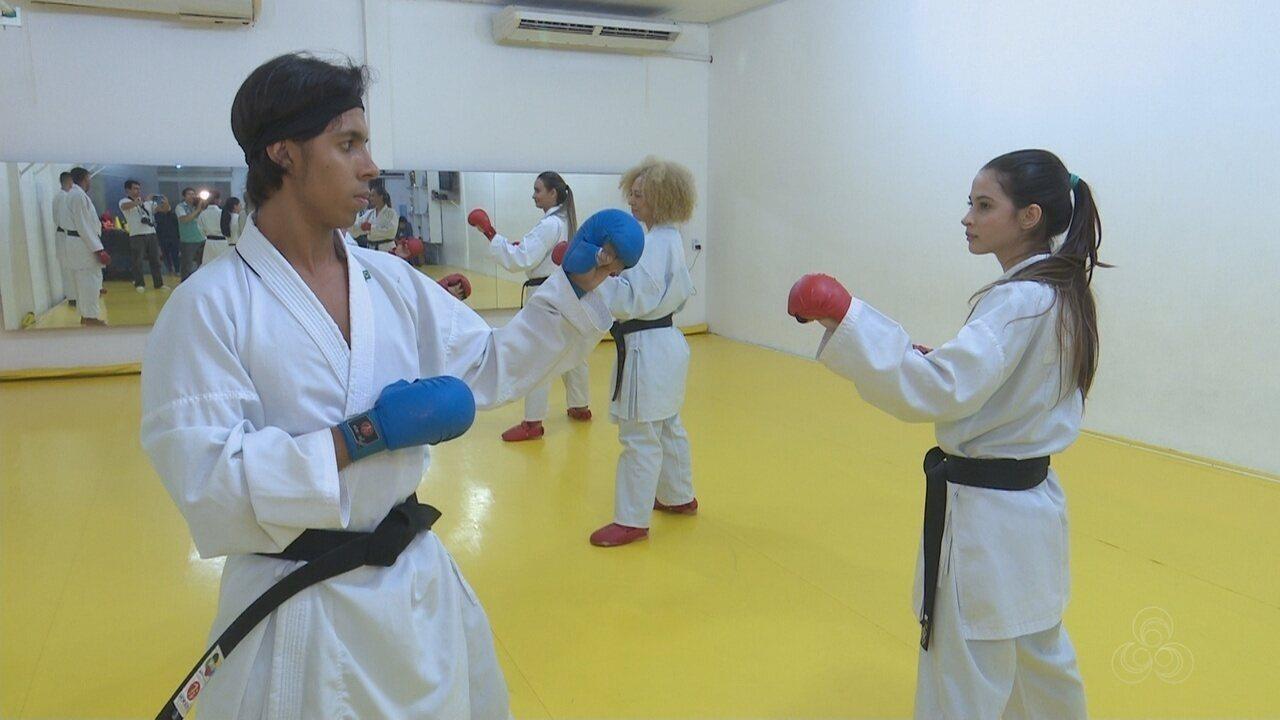 Roraimenses vão integrar a seleção brasileira universitária de karatê