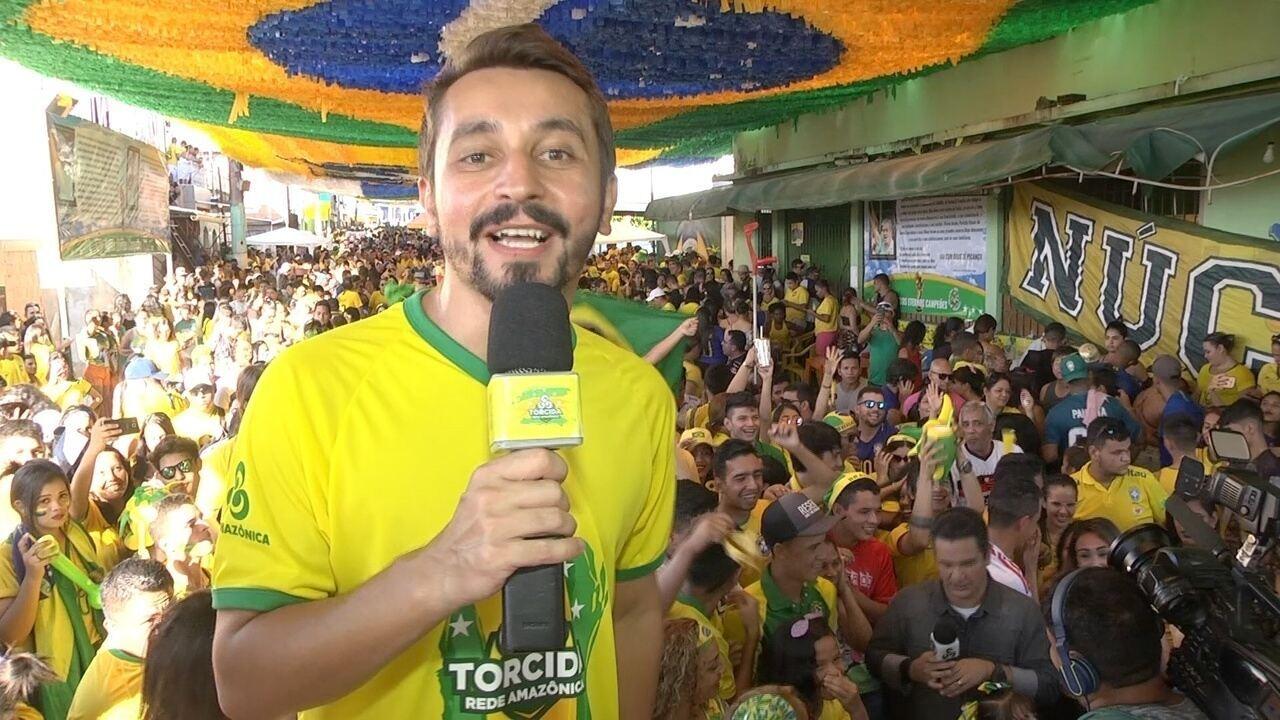 Moacyr Massulo comandou a festa no Morro da Liberdade, em Manaus