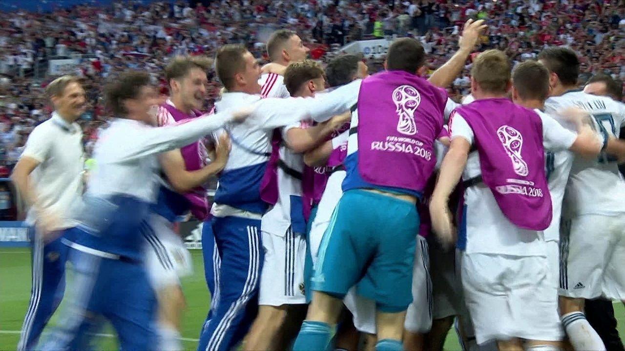 Os gols de Espanha 1 (3) x (4) 1 Rússia pelas oitavas de final da Copa do Mundo