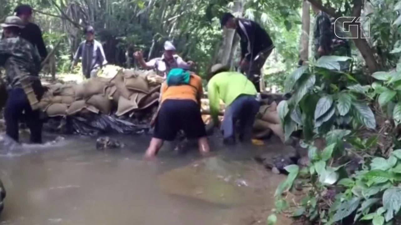 Jovens e treinador perdidos em caverna na Tailândia são encontrados com 'sinais de vida'