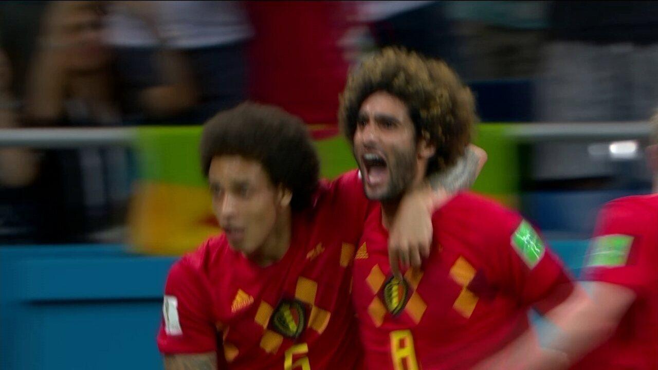 Veja o gol marcado por Fellaini contra o Japão