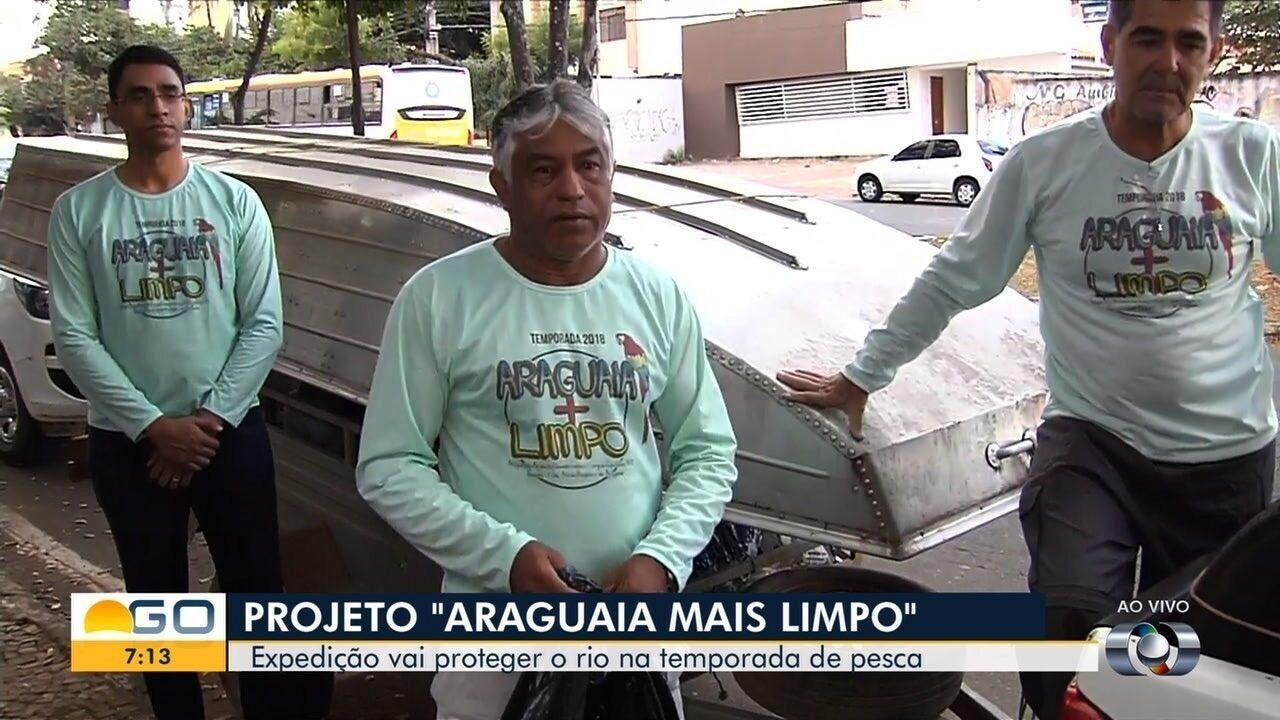 Secima realiza operação para preservar o Rio Araguaia, em Goiás