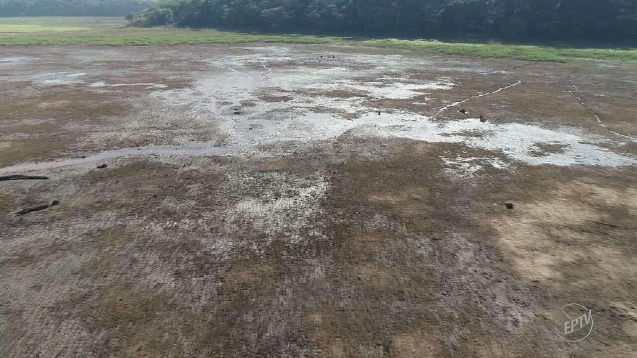 Represa em Iracemápolis perde 70% do volume com a falta de chuvas na região