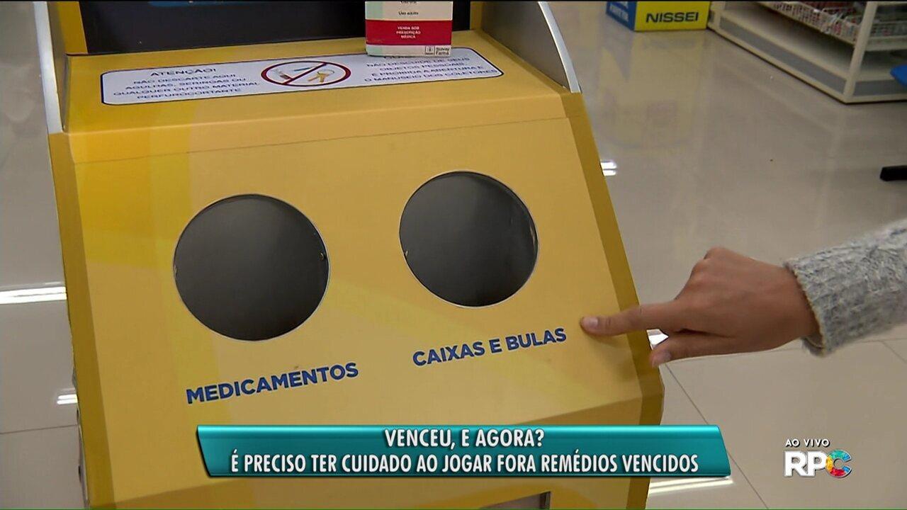Curitiba tem postos de coleta de remédios vencidos para evitar descarte irregular