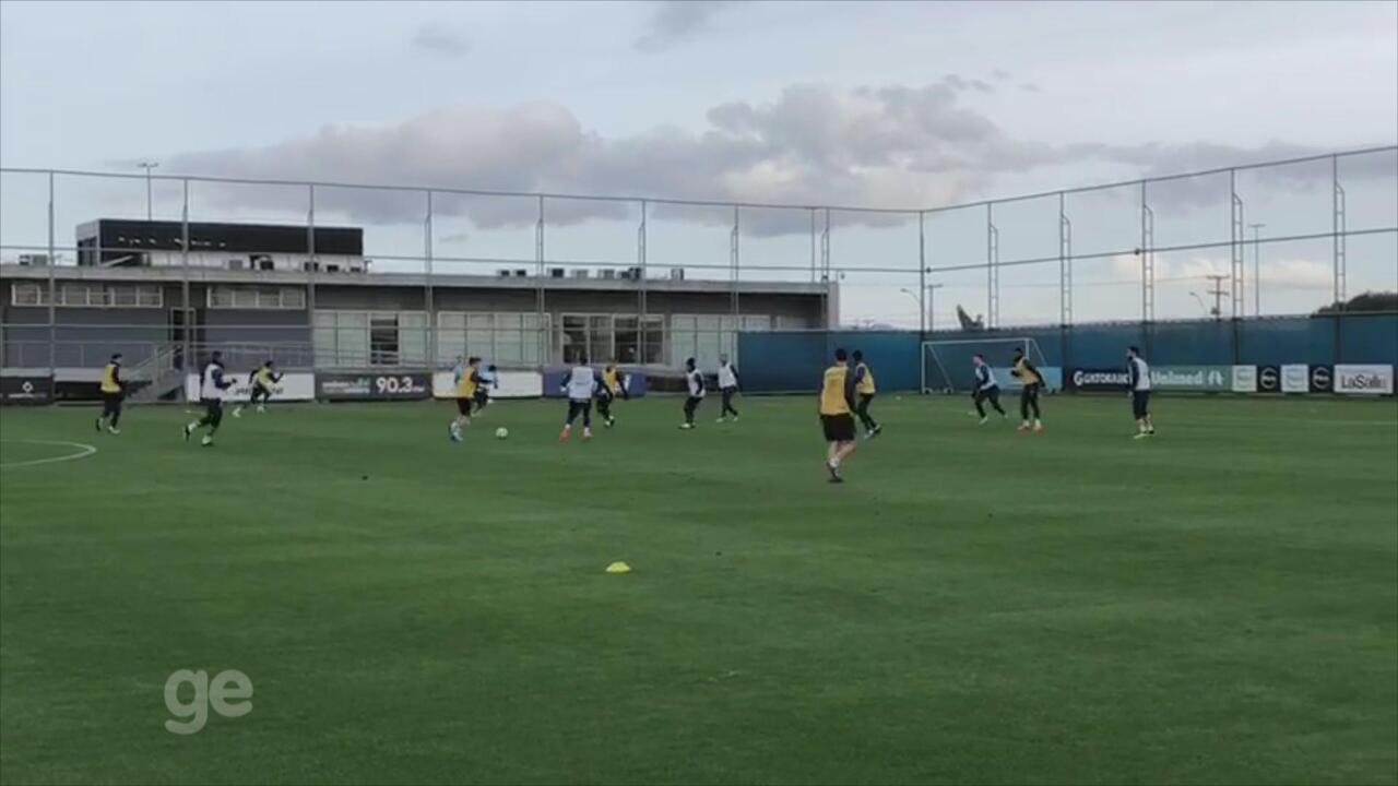 Confira lances do Marinho em treino do Grêmio desta terça-feira (3)