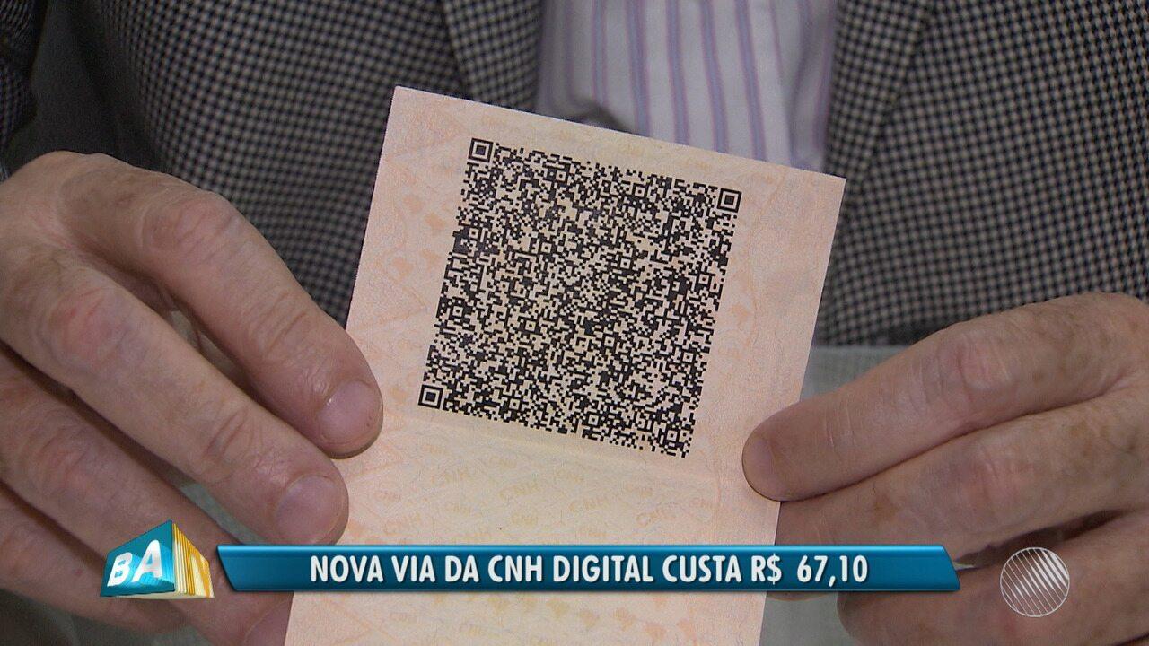 Carteira de motorista pode ser digitalizada e salva no celular a partir desta terça (3)
