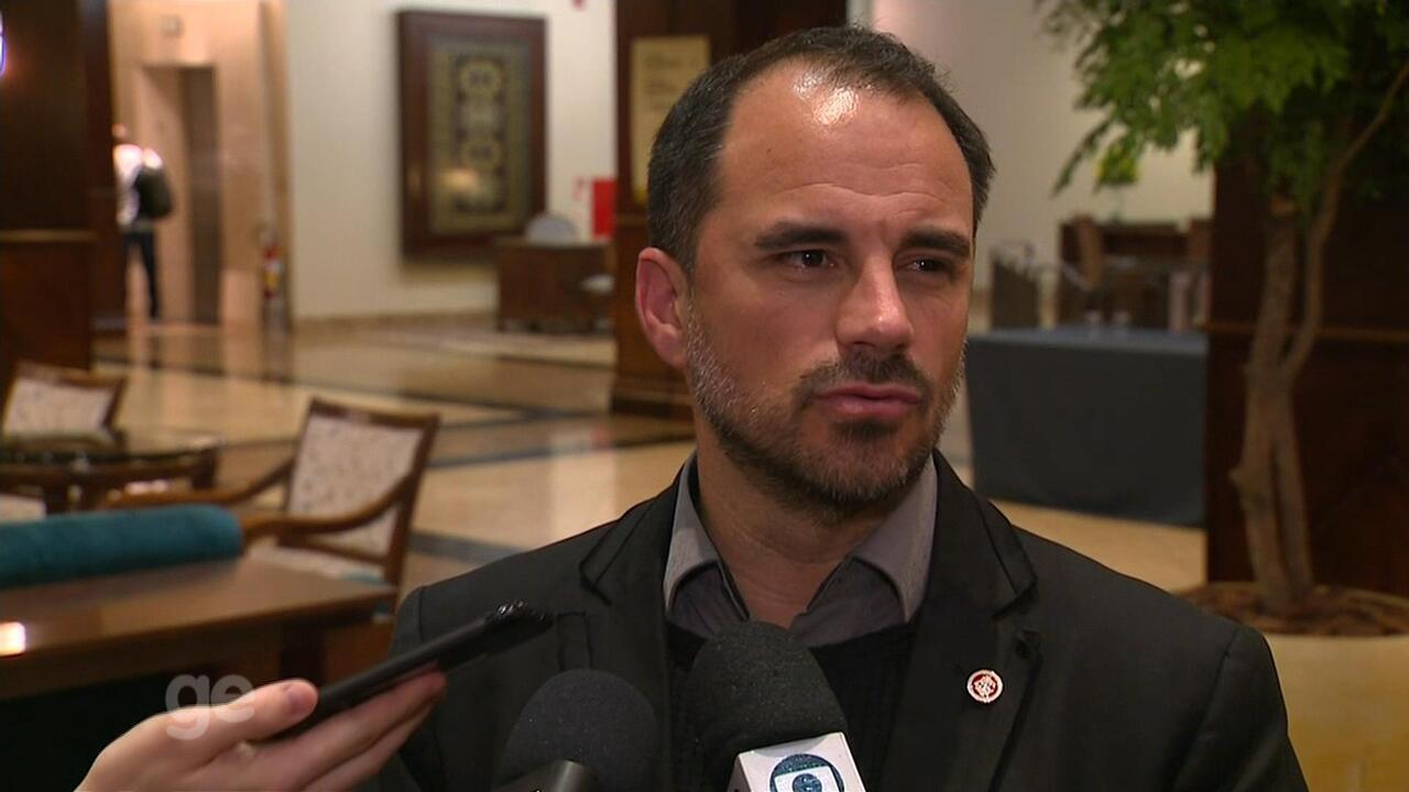 Rodrigo Caetano fala da preparação do Inter em Atibaia
