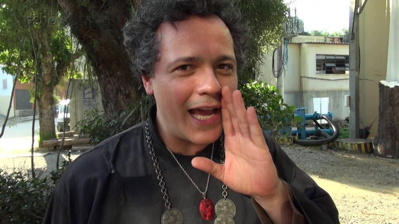 Danton Mello dá spoiler sobre Gregório e Amália