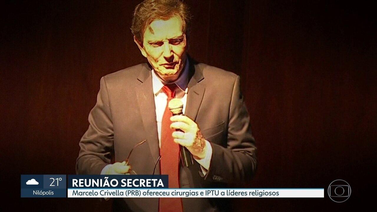 MP investiga encontro secreto de Crivella com pastores e líderes religiosos