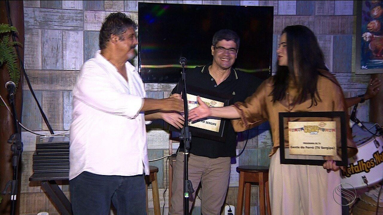 TV e FM Sergipe foram premiadas no Prêmio Sanfona de Ouro