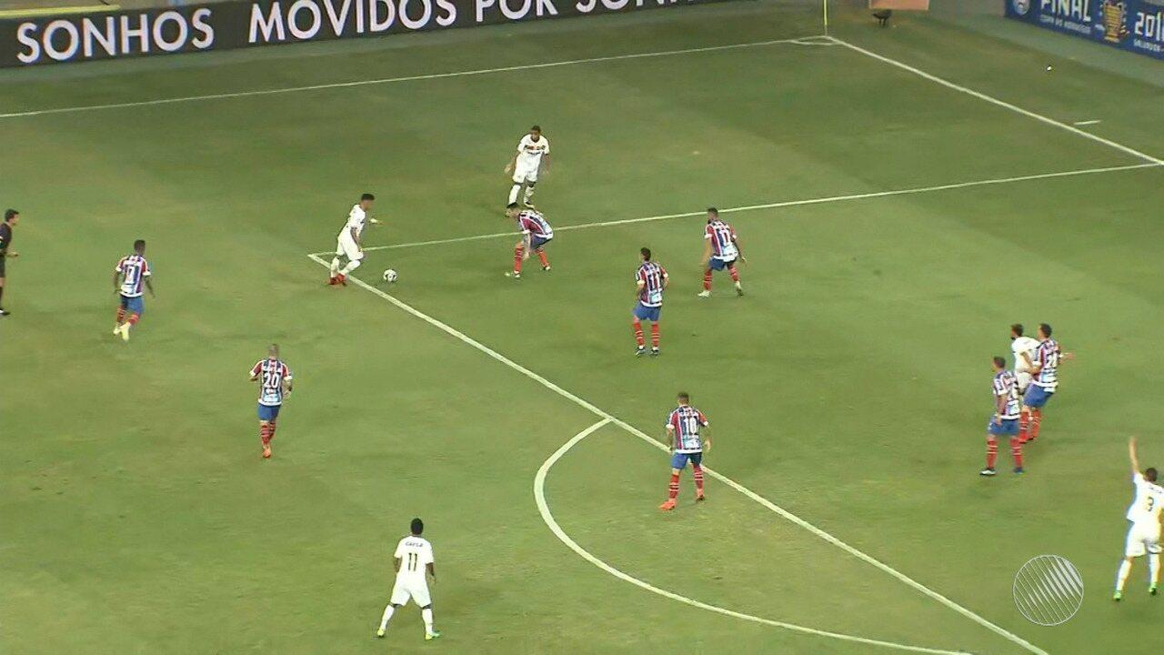 Bahia fica no 0 x 0 com o Sampaio Corrêa e fica com o vice do Nordestão