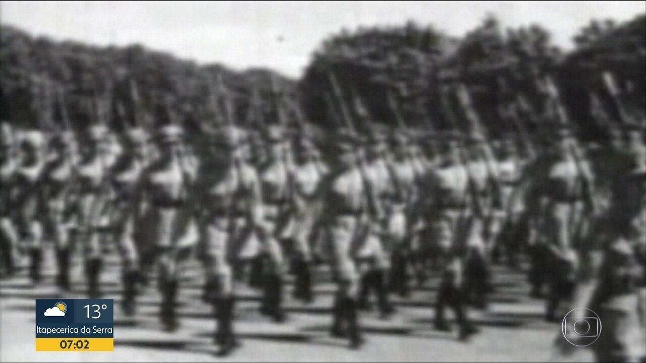 Revolução Constitucionalista de 1932; mulheres lutaram nas trincheiras
