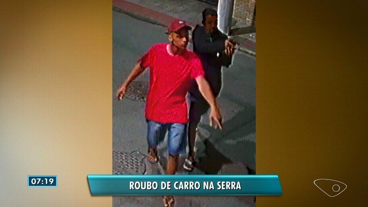 Quatro suspeitos de roubar carro e render mãe e filho são presos no ES