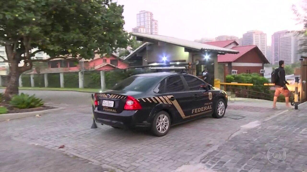 A Polícia Federal está em três estados para combater o tráfico internacional de drogas