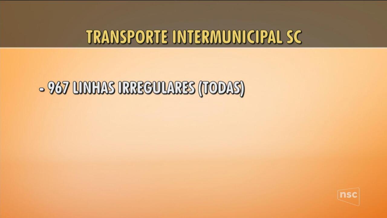 MP move ação contra o Deter por irregularidades no transporte intermunicipal de SC