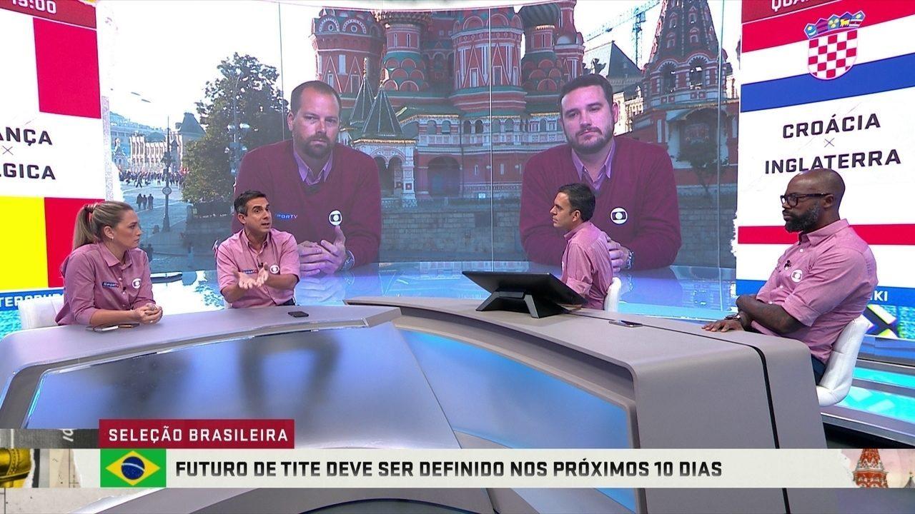 Comentaristas analisam possibilidades e plano B caso Tite não permaneça na Seleção