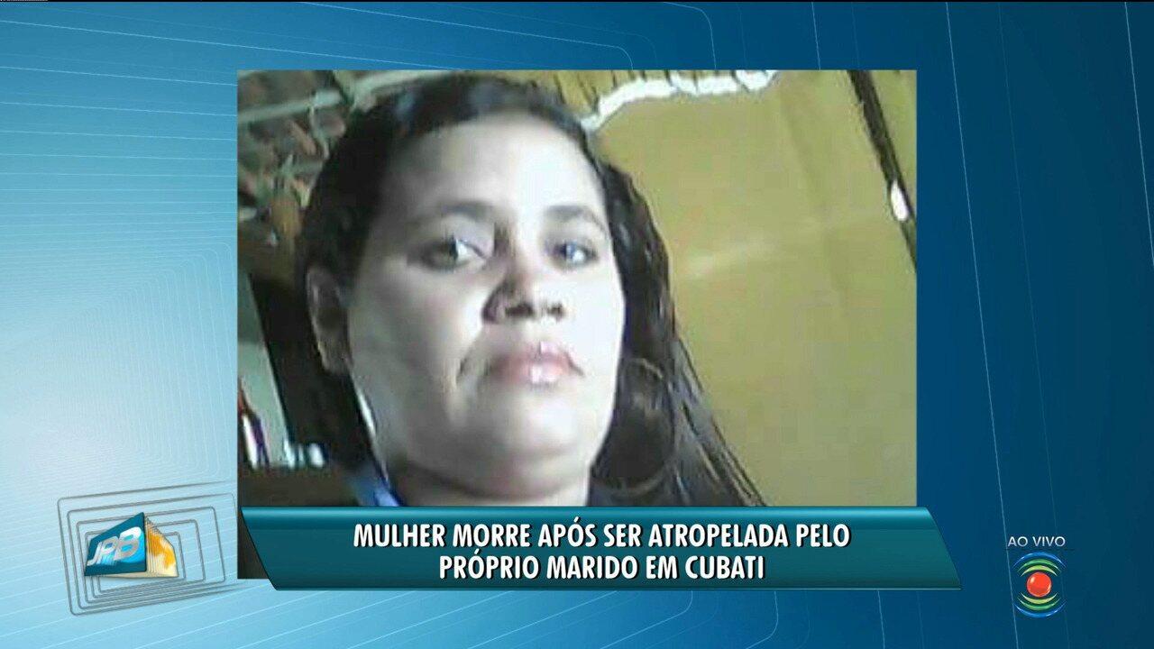 Mulher morre em acidente que teria sido provocado por marido