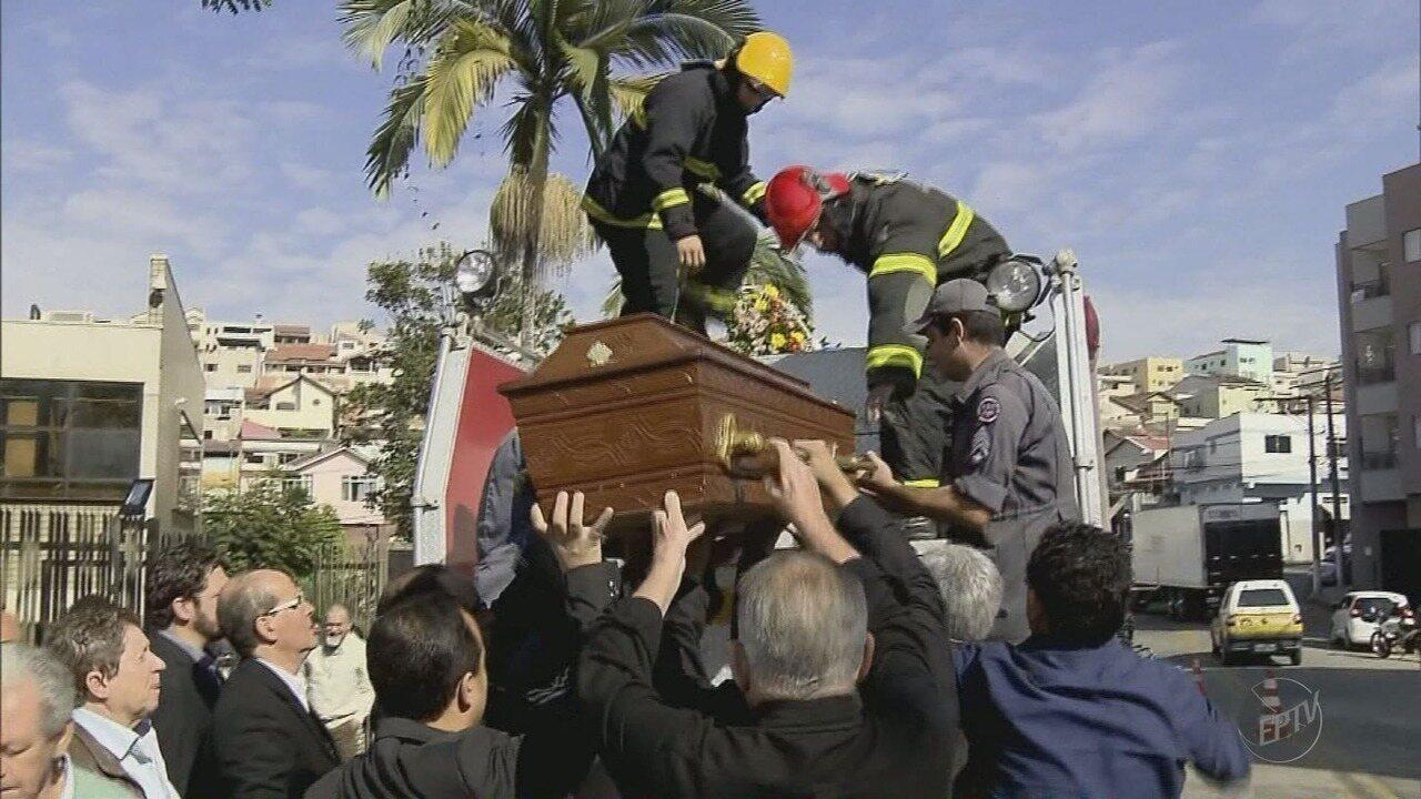 Ex-prefeito é sepultado nesta segunda-feira (9) em Pouso Alegre (MG)