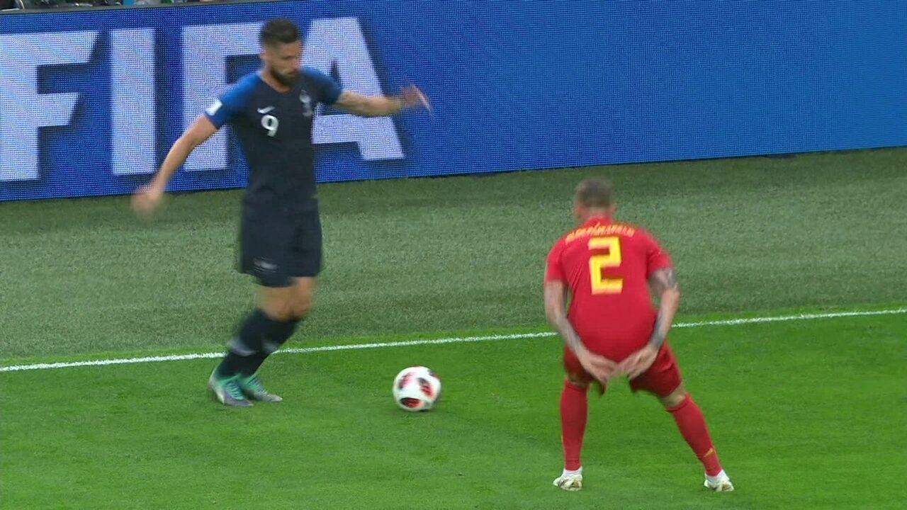Melhores momentos: França 1 x 0 Bélgica pela semifinal da Copa do Mundo 2018