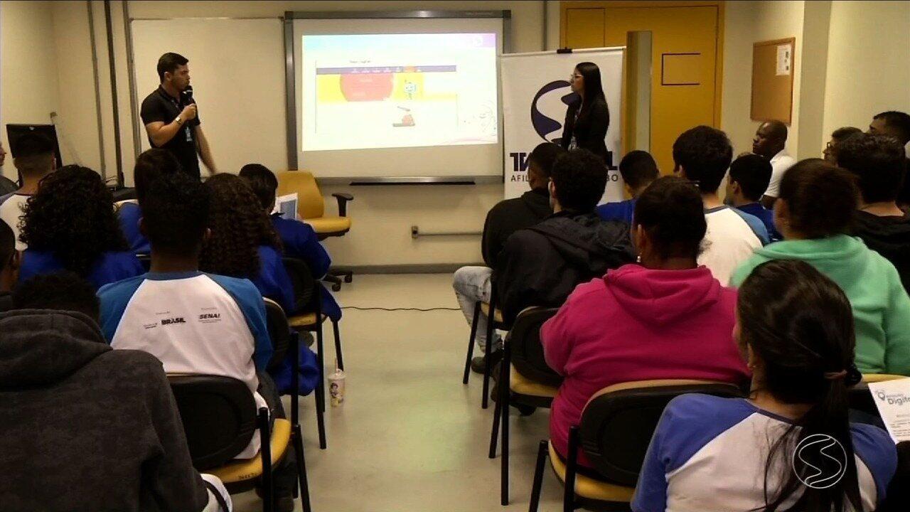 TV Rio Sul realiza 'Aulão Digital' para estudantes de Volta Redonda, RJ