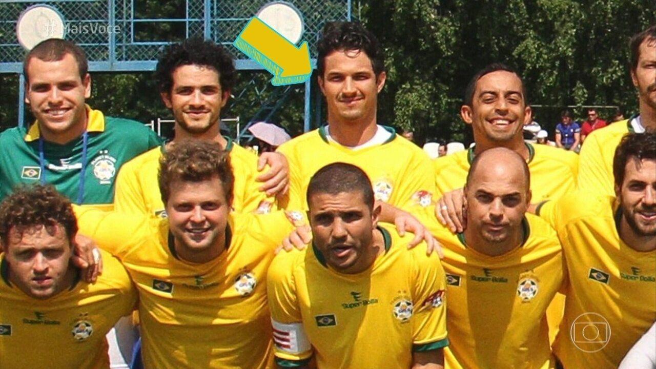 Romulo Estrela é campeão do mundo na Copa do Mundo de Artistas