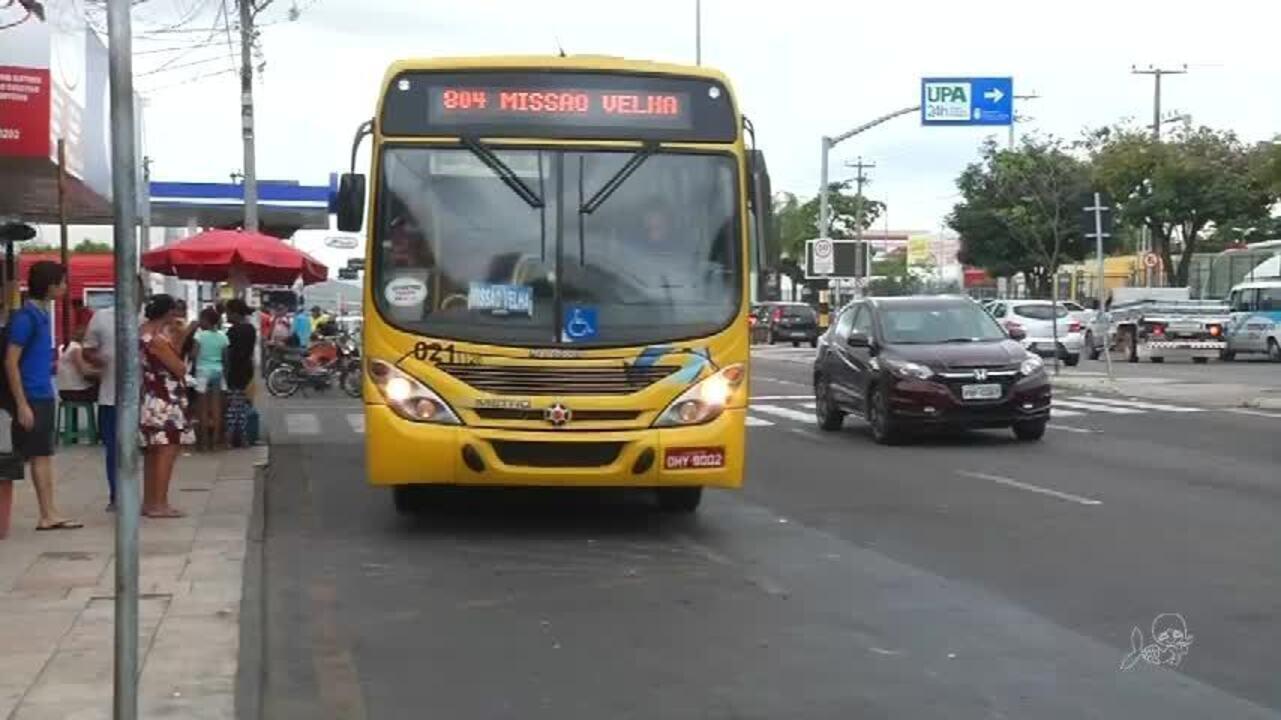 Paralisação parcial dos ônibus gera tumulto em Juazeiro do Norte