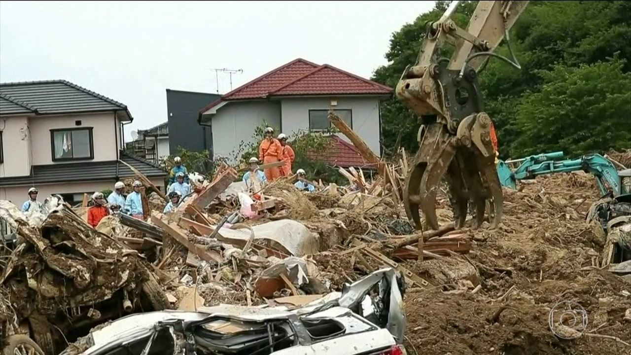 Sobe para 179 o número de mortos nas enchentes no Japão
