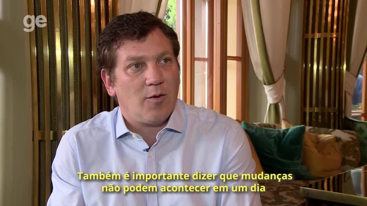 Alejandro Domínguez fala sobre o processo de mudança da imagem da Conmebol
