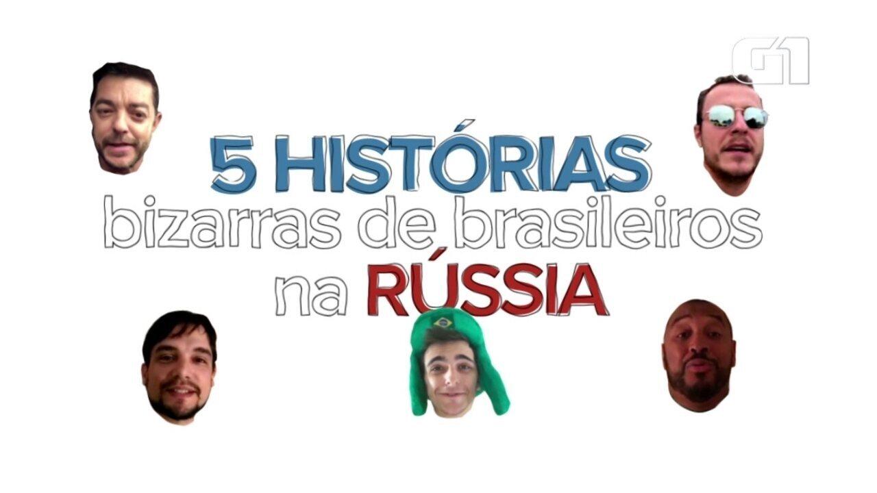Brasileiros contam histórias bizarras que passaram na Rússia