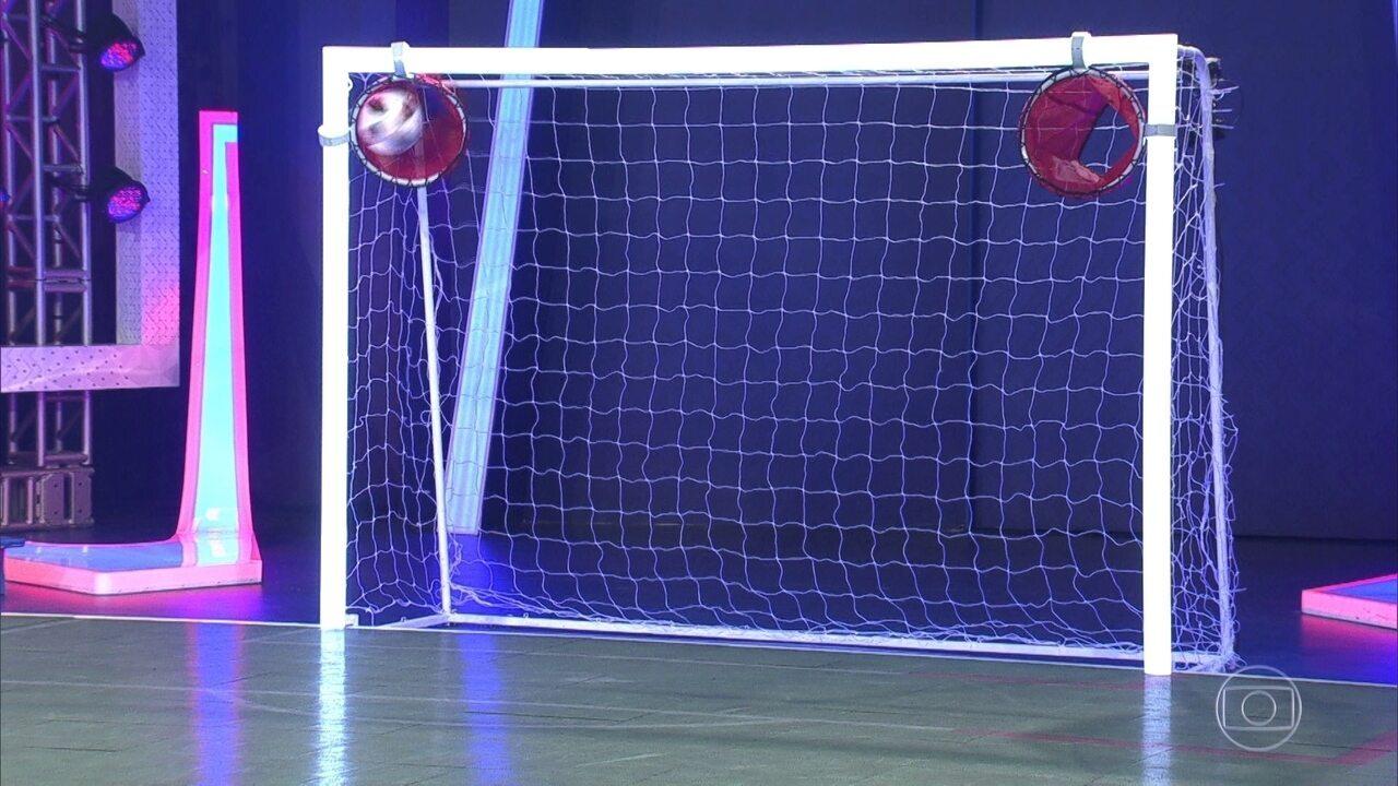 Confira o desafio de habilidade do Central da Copa
