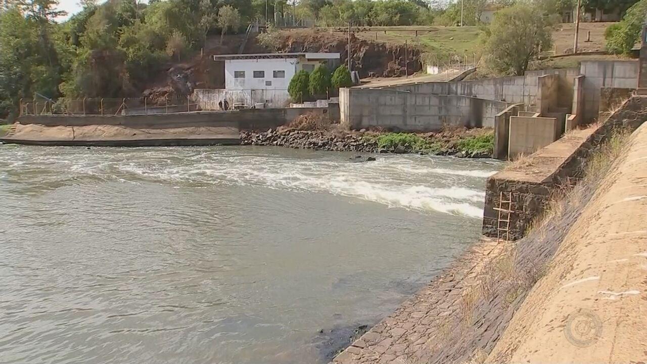 Falta de chuva em Cerquilho afeta funcionamento da estação de tratamento de água