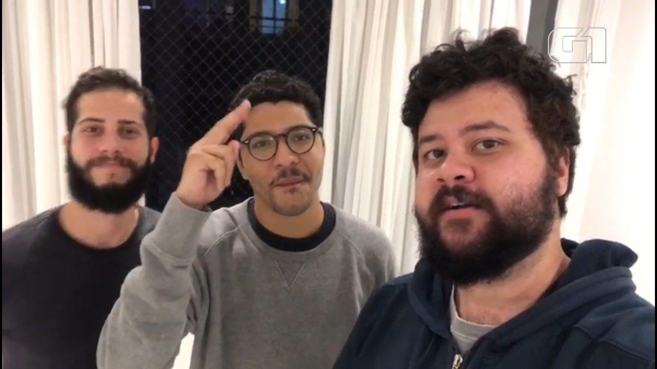 Banda Zimbra faz show neste sábado (14) em Curitiba