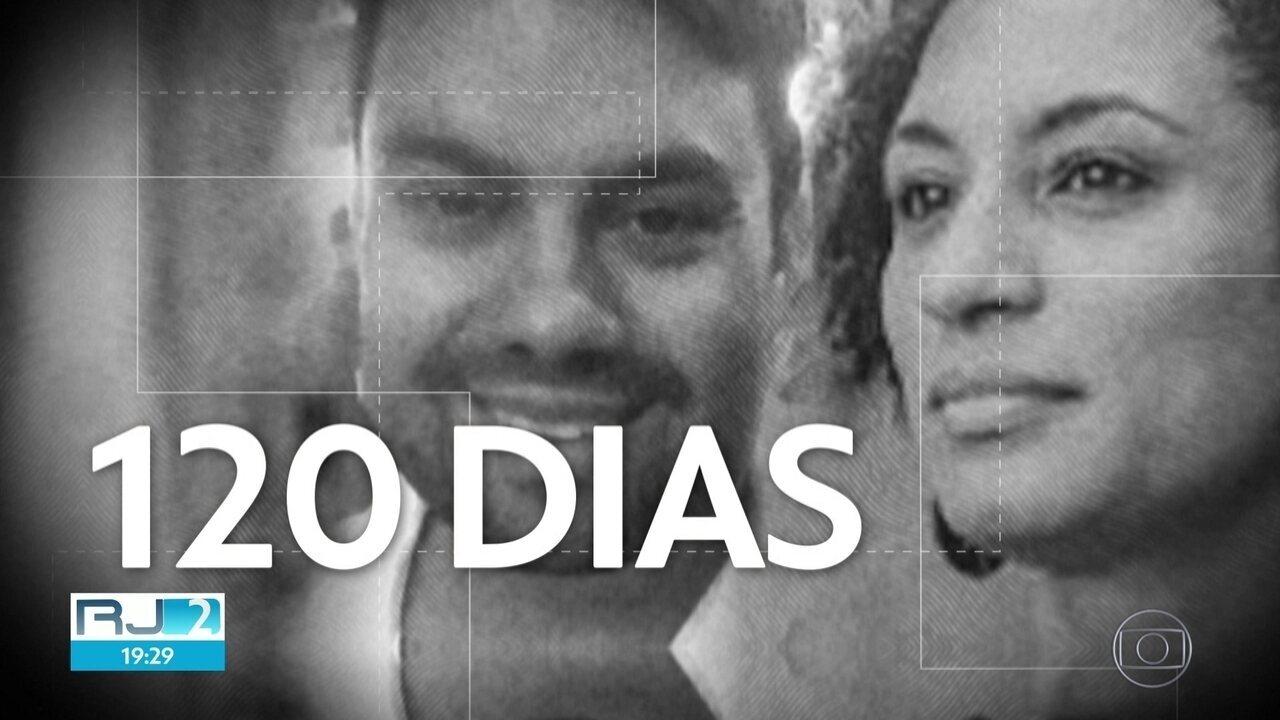As mortes de Marielle e Andreson completam 120 dias